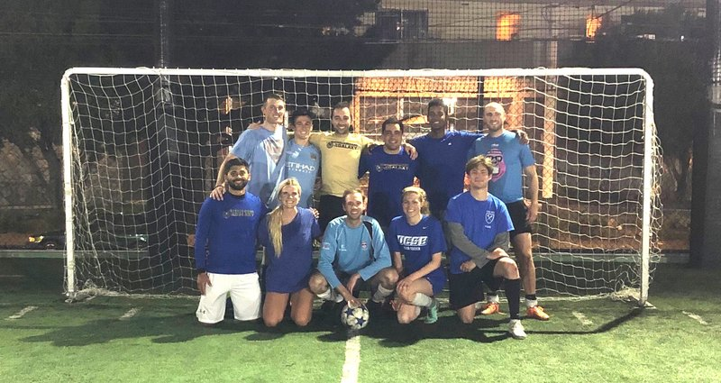 Monday Soccer Champs
